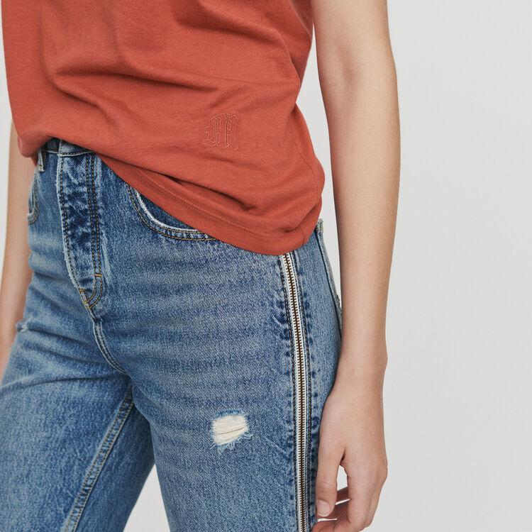 Short sleeve t-shirt : Tops & T-Shirts color Terracota