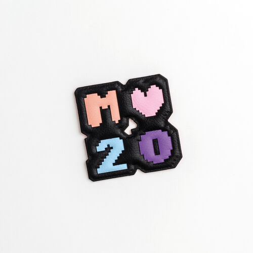 Patch Badge X 20 years : New Collection color Multi-Coloured