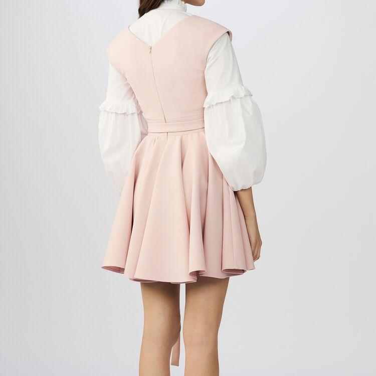Sleeveless skater dress : Dresses color Pink