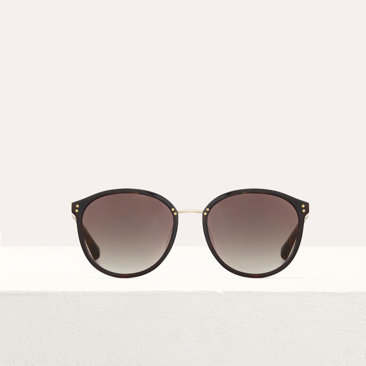 Sunglasses in acetate and metal : Sunglasses color ECAILLE