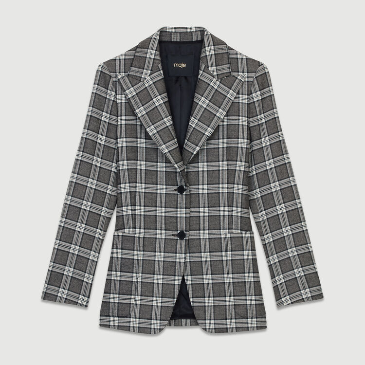 Plaid suit jacket : Coats & Jackets color CARREAUX