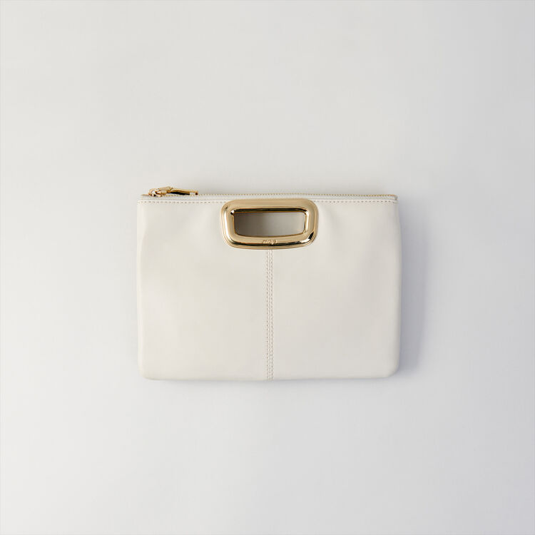 M Duo Skin bag in leather : M Skin color Two-Tone