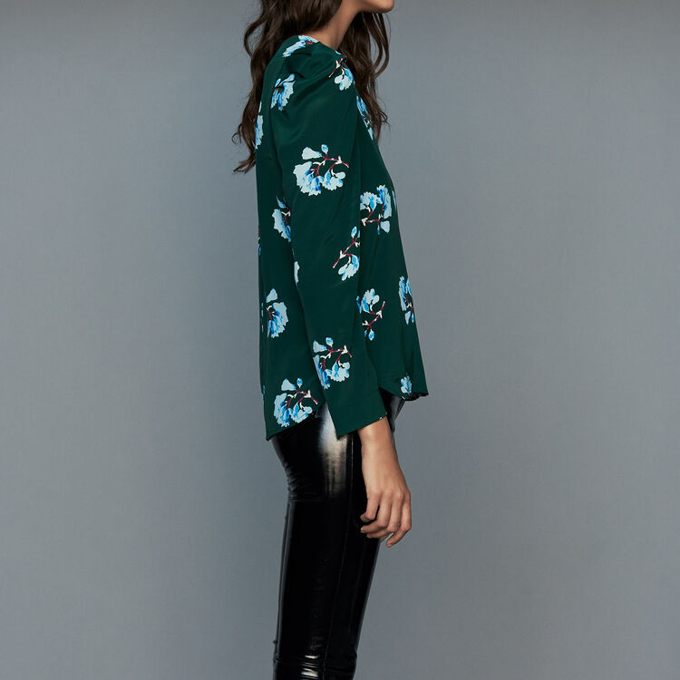 Blouse in floral print : Tops & T-Shirts color PRINTED