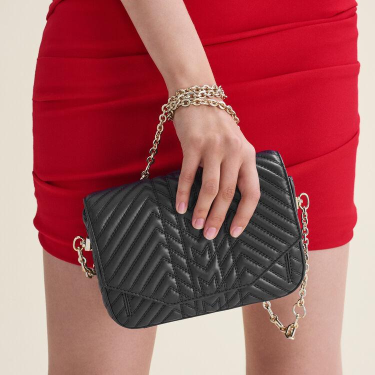 Gold detachable chain for handbag : Straps color GOLD