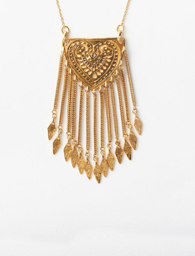 Long Pendant Necklace -  - MAJE