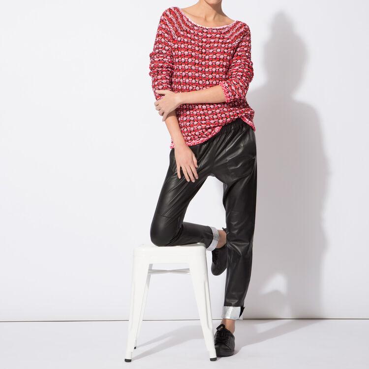 Jacquard jumper with decorative dots : Copy of Sale color