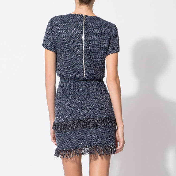 Knitted dress with smocking at the waist : Spring Summer Precollection color