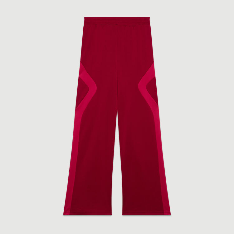 Jogging pants : Pants & Jeans color Raspberry