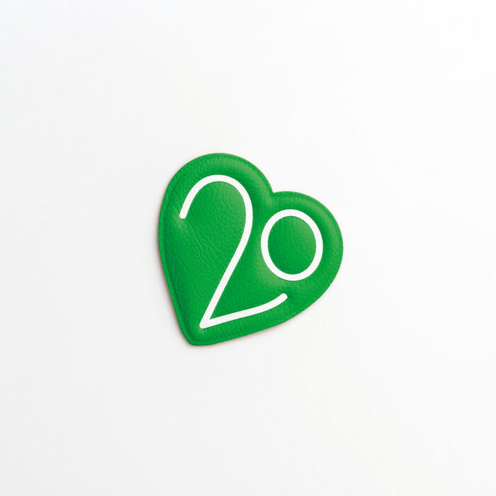 Patch Badge X 20 years : Other Accessories color Green