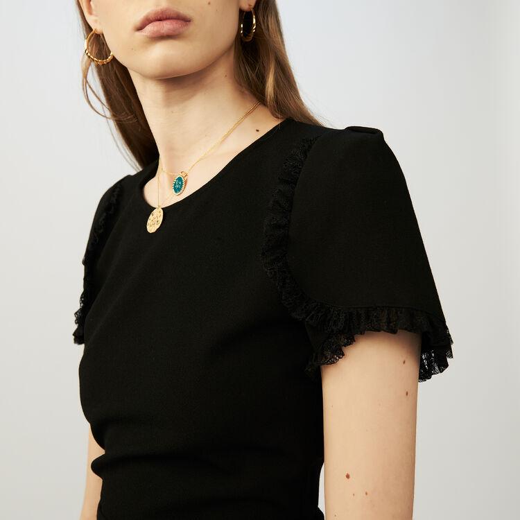 Jersey romper : Skirts & Shorts color Black 210