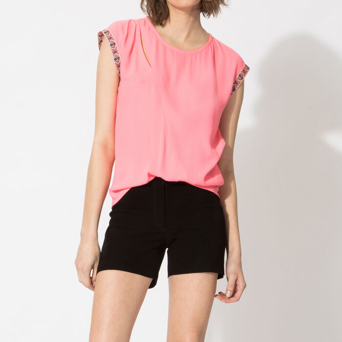 Floaty sleeveless top : Copy of Sale color