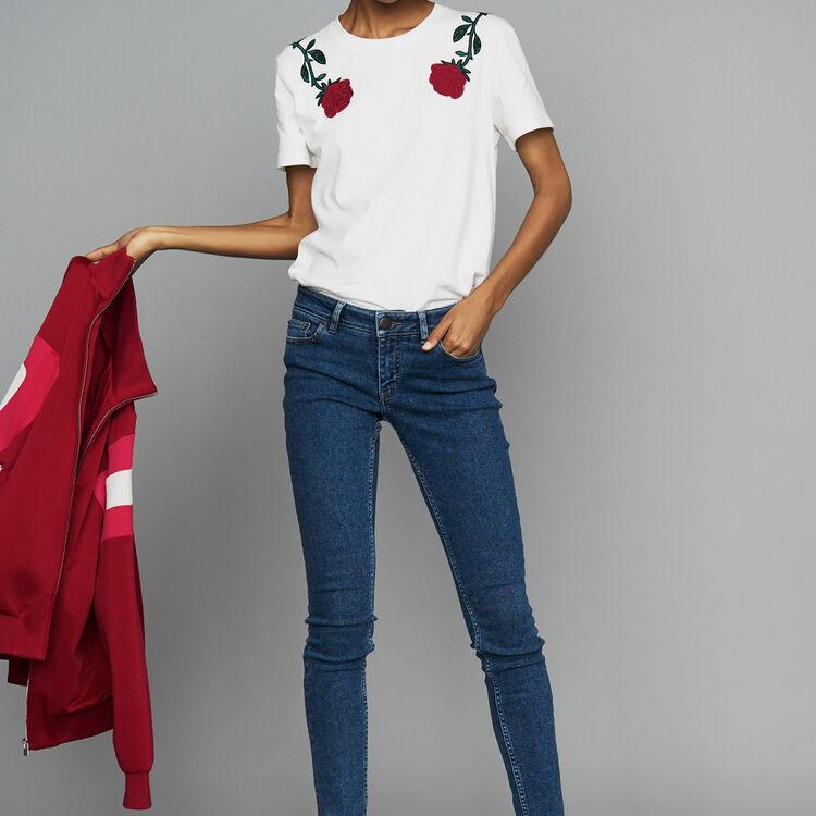 Skinny jeans in denim : 50% Off color Denim
