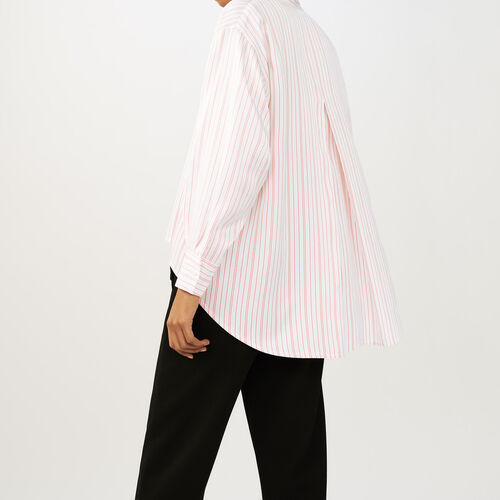 Oversized striped shirt : Tops & T-Shirts color Stripe