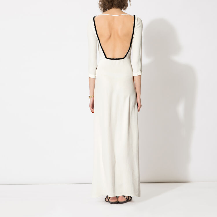 Long backless dress : Copy of Sale color