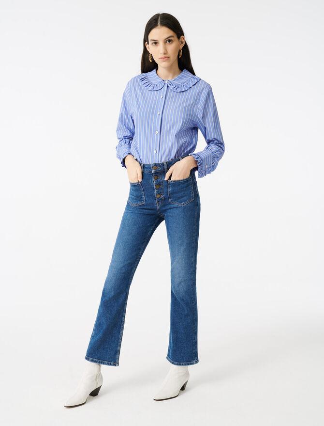 Jeans with pockets - Pants & Jeans - MAJE