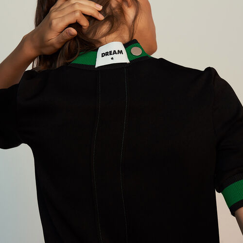 Sporty top : Tops & T-Shirts color Black 210