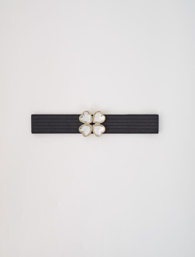 Elasticated belt with jewel fastening - Belts - MAJE