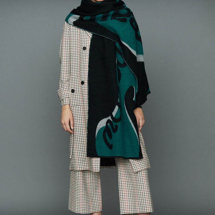 Straight plaid coat : Office Chic color CARREAUX