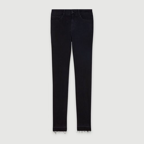 Basic skinny jeans : Pants & Jeans color Anthracite