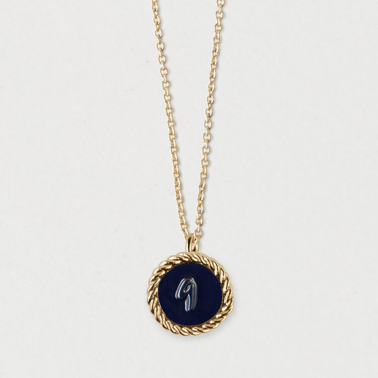 Number 9 medallion : Jewelry color GOLD