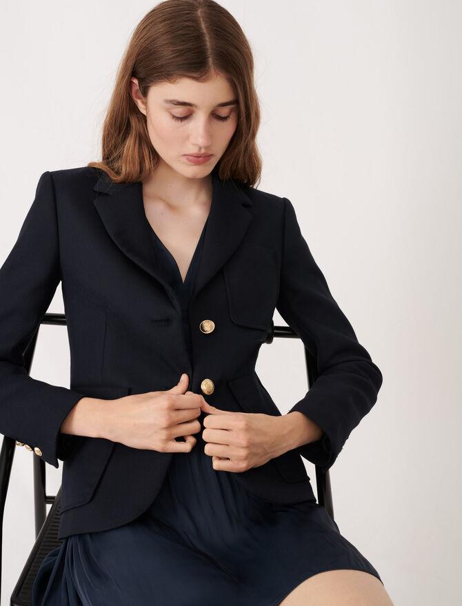 College-style suit jacket - Coats & Jackets - MAJE