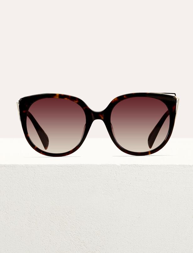 마쥬 선글라스 MAJE Metal and acetate sunglasses,Scale