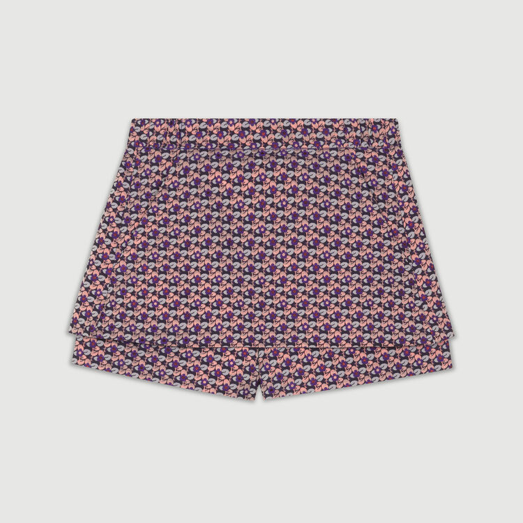 Jacquard skort : Skirts & Shorts color Jacquard