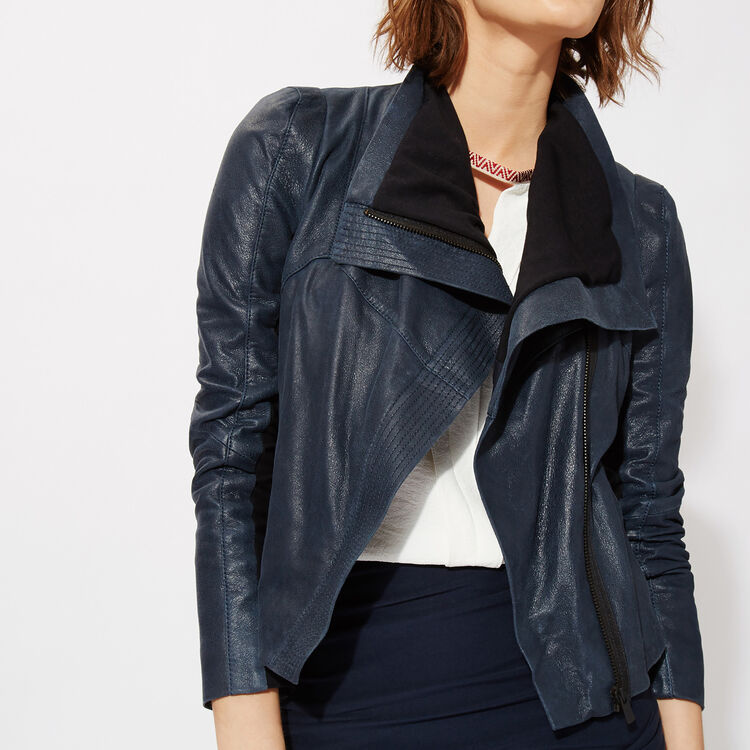 Lambskin leather jacket : Copy of Sale color