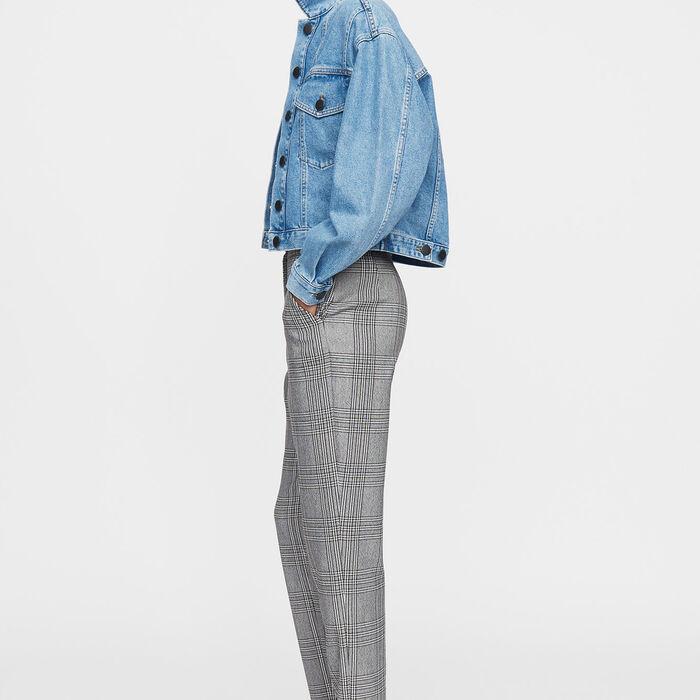 Straight pants : Pants & Jeans color CARREAUX