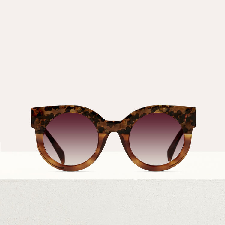 Cat's eye sunglasses : Sunglasses color ECAILLE