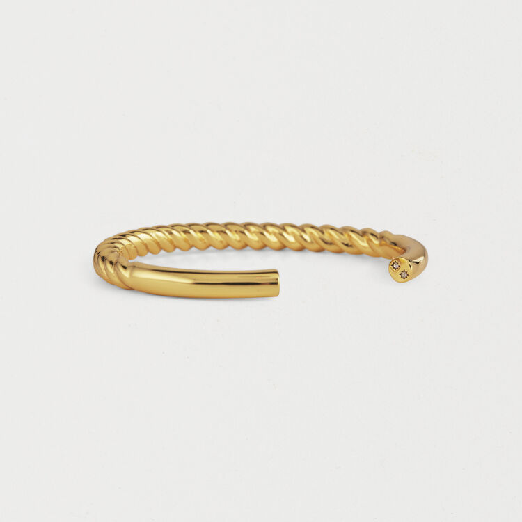 "Tuesday ""Semainier"" Bangle : Jewelry color GOLD"