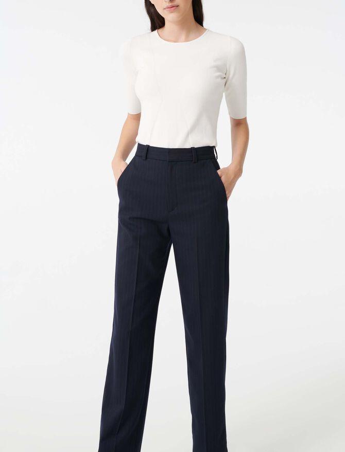 Short sleeve sweater - Sweaters - MAJE