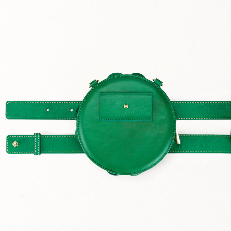 Clover shape crossbody mini bag : Shoes & Accessories color Green