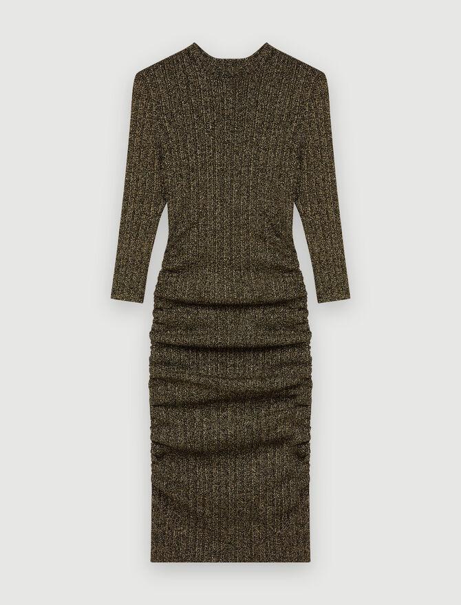 Short lurex dress - Dresses - MAJE