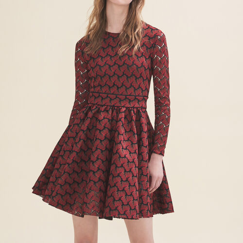 Bonded lace dress : Dresses color PRINTED
