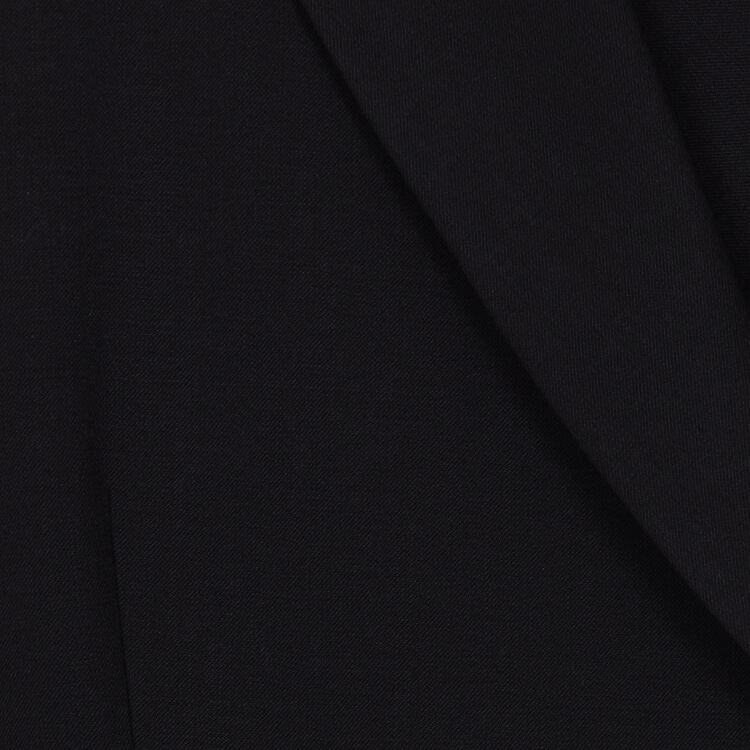Dress coat in wool blend : Dresses color Black 210