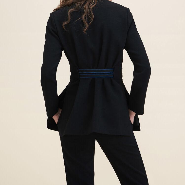Crêpe kimono jacket - Coats & Jackets - MAJE