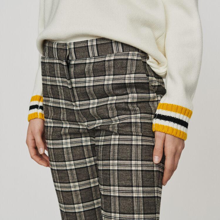 Plaid pants : Pants & Jeans color CARREAUX