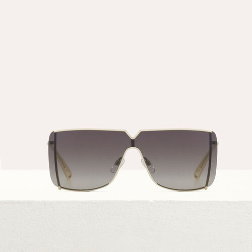 """""""Mask"""" sunglasses in metal : Sunglasses color Multico"""