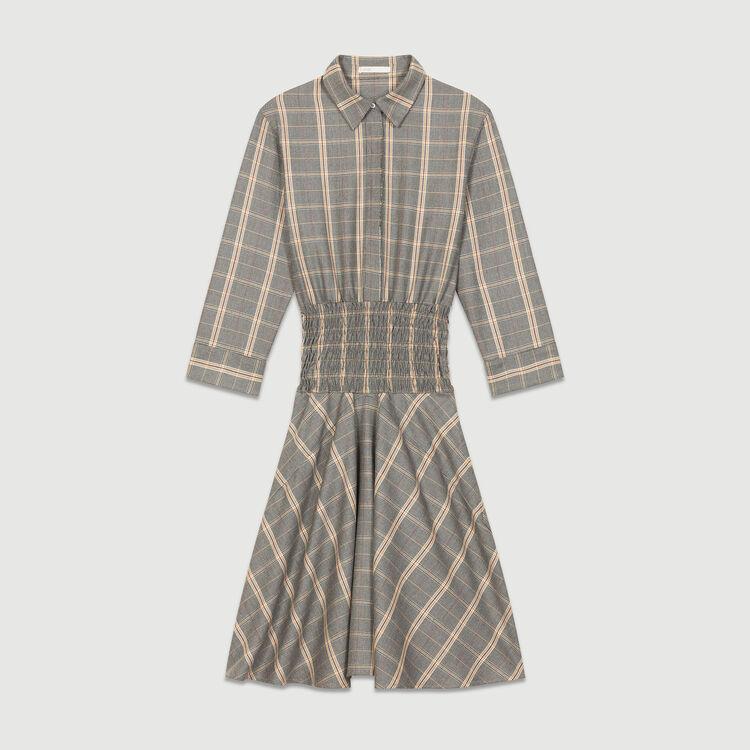 Checked dress : Dresses color CARREAUX