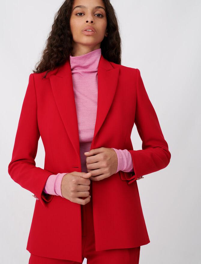 Cinched waist jacket - Coats & Jackets - MAJE