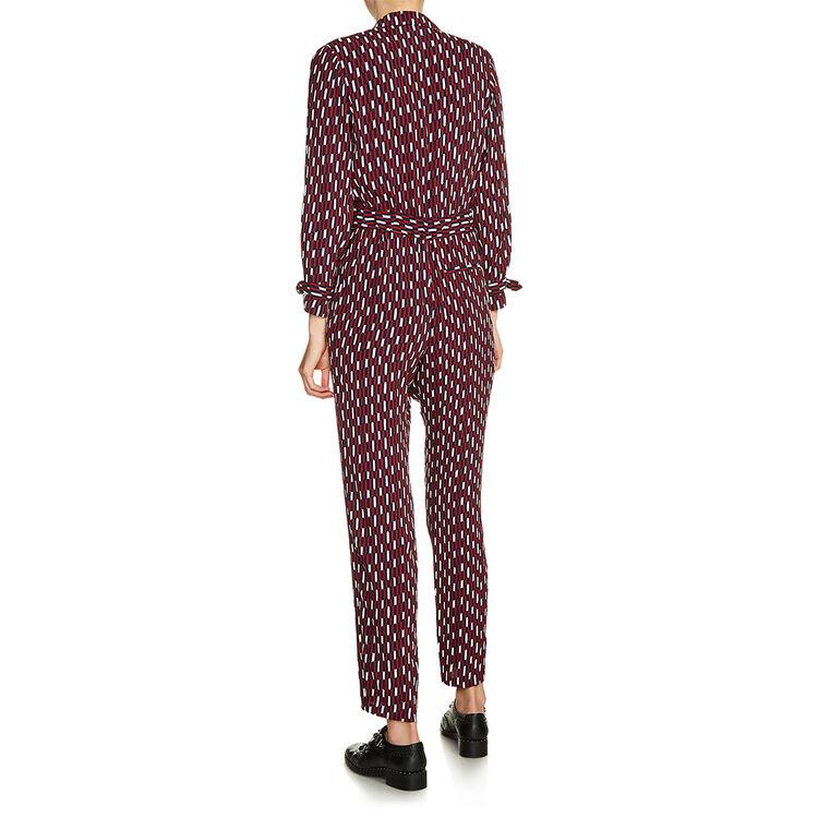 . : Pants & Jeans color PRINTED