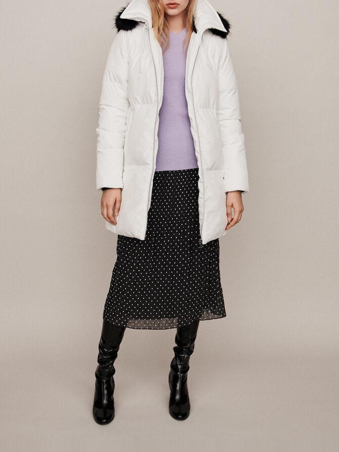 Hooded puffer - Coats & Jackets - MAJE
