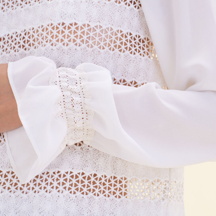 Embroidered top : null color