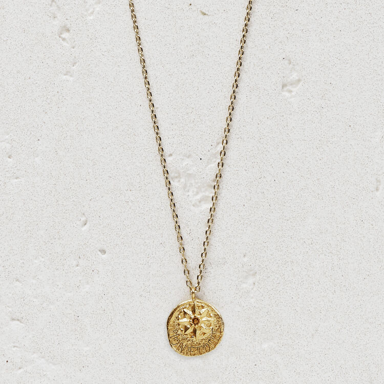 "Necklace  ""Mon étoile"" in gold plated : New in: Spring Collection color GOLD"