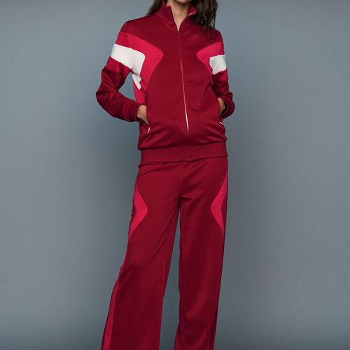 Jogging pants : Pants & Jeans color Raspberry