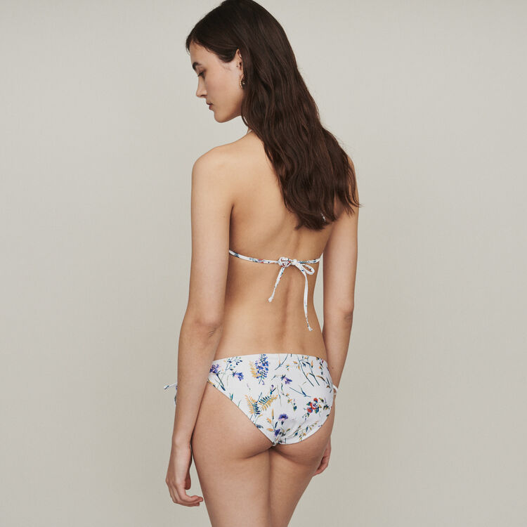 Printed triangle two-piece swimsuit : Swimsuits color Printed