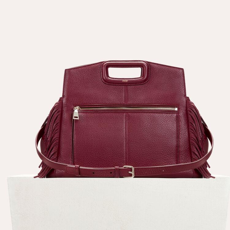 Leather shoulder bag : Shoes & Accessories color Black 210