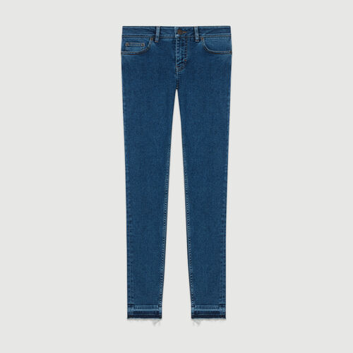 Skinny jeans in denim : 50% Off color Denim