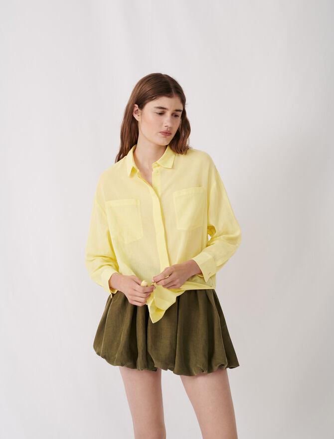Airy shirt - Tops & T-Shirts - MAJE